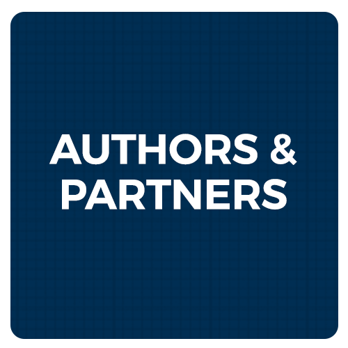 authors and partners button graphic
