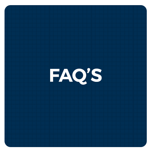 frequently asked questions button graphic