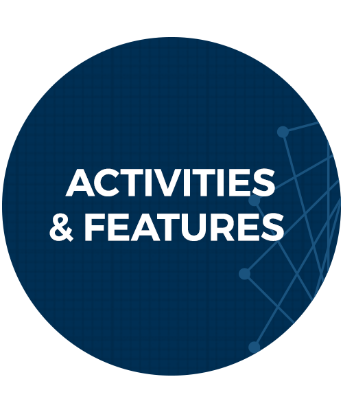 activities and features button