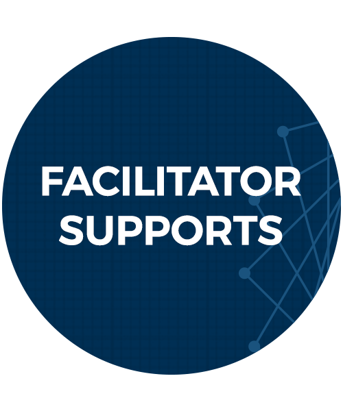 facilitator supports button